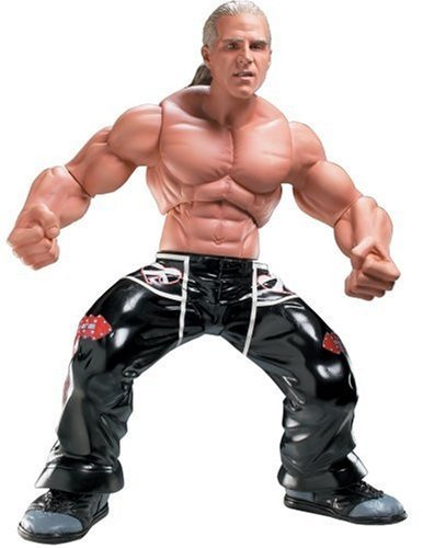 WWE Ring Giants 14 Poseable Action Figure Shawn Michaels 13 Points of Articulation by Jakks Pacific (Shawn Michael Wwe Spielzeug)