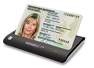 REINER SCT cyberJack RFID Chip-Kartenleser basis   Für den neuen Personalausweis (nPA)