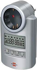 Brennenstuhl DT 1507500 Prise programmable numérique Primera Line pour programmation hebdomadaire