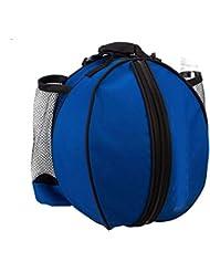 super-bab deportes al aire libre hombro bolsas de balón de fútbol bolsa de nylon para equipo de entrenamiento accesorios kits de fútbol voleibol baloncesto, azul claro