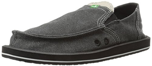 Sanuk Chanclas Fraid Too, Negro (Schwarz (Black/Brown)), EU 39.5 (US 7)