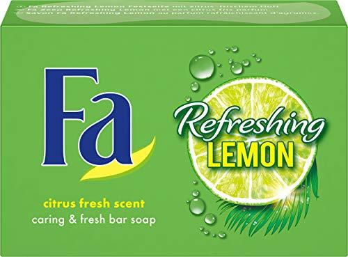 Fa Refreshing Lemon Festseife, 3er Pack (3 x 100 g) -