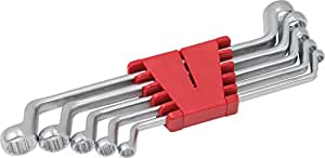 KS Tools 517.0295 Classic Jeu de clés à œil contre-coudées