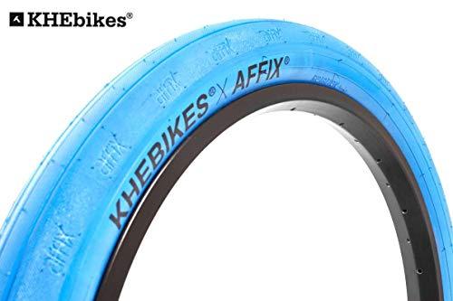 """KHE x Affix fette BMX Reifen blau 20"""" x2,40 Spezial Edition! E10"""