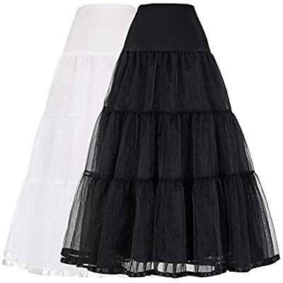 GRACE KARIN® New Arrival Womens 50s Ankle Length Bridal Wedding Long Dress Slips Underskirts Petticoat