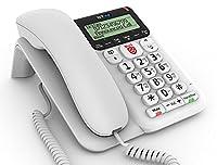 BT Decor 2600 Advanced Call Blocker Corded Telephone, White