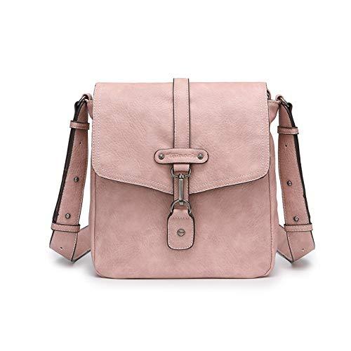 Tamaris Damen Bernadette Crossbody Bag Umhängetasche, Pink (Rose), 8x23x22 cm