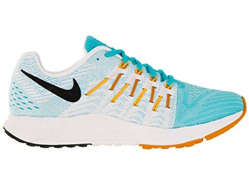 Nike Wmns Air Zoom Elite 8, Chaussures de Running Entrainement Femme, Taille Bleu - Azul (Gmm Blue / Blk-Lsr Orng-Vvd Orng)