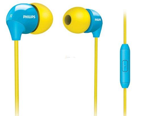 Auriculares Philips amarillos
