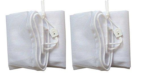 ATIE poolsupplytown Fine Mesh Tasche mit Pull-n-Lock Kordel für Pool Leaf Vakuum/Leaf Eater/Leaf Catcher/Leaf Gulper/Leaf Bagger/Leaf Master