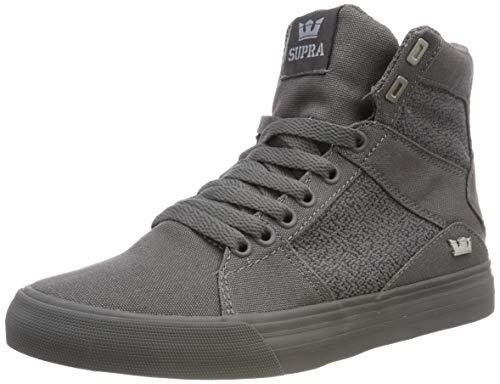 Supra Herren Aluminum Hohe Sneaker, Grau Grey 020, 45 EU (Supra)