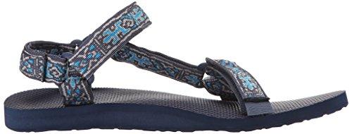 Teva Original Universal M's, Sandales de sport homme Bleu - Blau (Old Lizard Insignia 886)