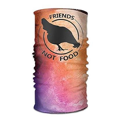 FAFANIQ Friends Not Food Chicken Headwear For M...
