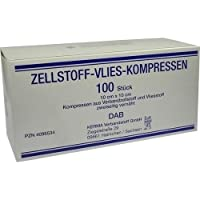 Zellstoff-Vlies-Kompressen 12-fach 10x10 cm unsteril 100 St. preisvergleich bei billige-tabletten.eu