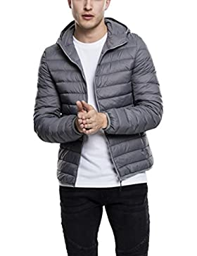 Urban Classics Basic Hooded Down Jacket, Chaqueta para Hombre
