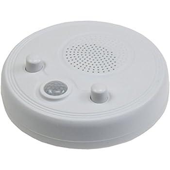 Wand Decken Radio Mit PIR Sensor, 360°, Ø 95mm, Batteriebetrieb,