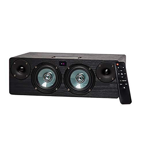 HXWS Bluetooth-Lautsprecher, Bluetooth 4.2 Wireless-Lautsprecher mit 60W HD Sound und satten Bass, Integrierter USB, TF-Karten-Slot und AUX-Eingang, Lautsprechern für Telefon, Tablet, PC