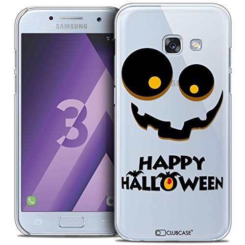 tzhülle Back Case Samsung Galaxy A3 2017 (A320) [Crystal HD Sammlung Halloween Design Happy - Flexibel - Ultra Fin - Auf Wunsch frisch in Frankreich gedruckt] ()