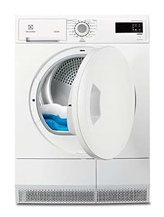 Electrolux EDH3386PDW Autonome A+++ Blanc machine à laver avec sèche linge - Machines à laver avec sèche linge (Autonome, Blanc, Gauche, Rotatif, LCD, 8 kg)