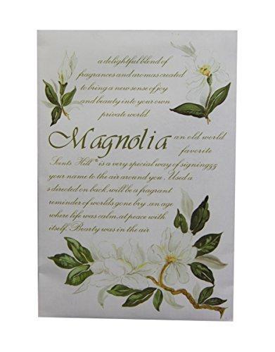Frandy House Duftsäckchen, klassisches Design, 4 Stück, Magnolia, 6.7*0.2*4.6