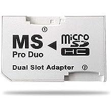 ADAPTADOR SDHC A MS PRO DUO DUAL SLOT (PSP)