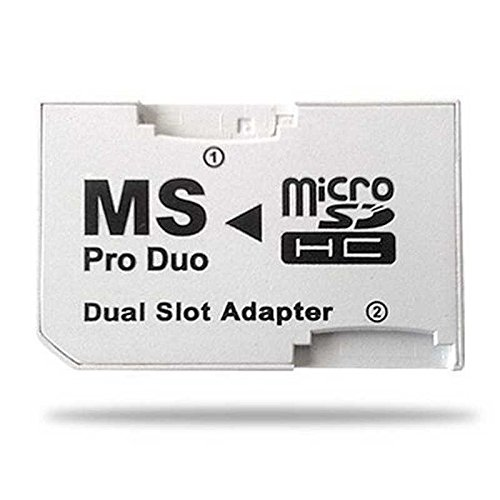 Adapter MS PRO DUO SDHC Ein Dual-Slot (Psp 64 Gb Speicherkarte)