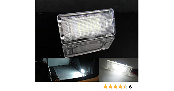 Led Innenraumbeleuchtung 1 Stück Fußraum Handschuhfach Kofferraum Kofferraumbeleuchtung Weiß Can Bus Auto