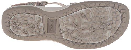 Skechers Regga Slim tenere vicino Gladiator Sandal Taupe/Mint