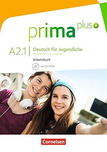 Prima plus a21 libro de ejercicios (incluye cd)
