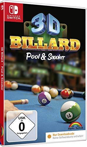 3D BILLARD Pool & Snooker - [Nintendo Switch]