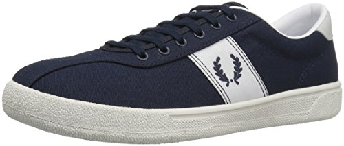 FRED PERRY - Baskets basses - Homme - Sneakers Tennis 1 Canvas Bleu Marine pour homme Bleu