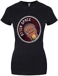 Grindstore Women's Otter Space T-Shirt Black