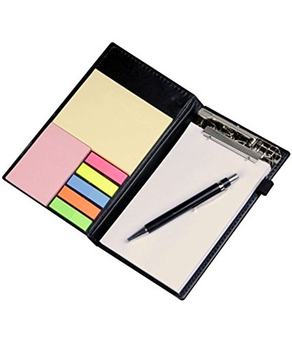 Coi-Memo-Note-Pad-Memo-Note-Book-With-Sticky-Notes-Clip-Holder-In-Diary-Style