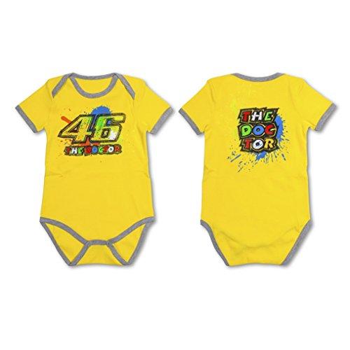 Body bimbo kids VR46 Valentino Rossi Paint tg. 6 mesi