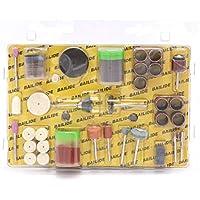 Amoladora eléctrica conjunto pulido unidad conjuntos eléctrico pulido accesorios Taladro broca Rotary Set kit hobby pulido lijado herramienta de grabado-105Pcs