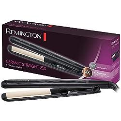 Remington Fer à Lisser Lisseur Céramique, Lissage Professionnel, Température Variable - S3500