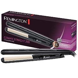 Remington Hair Straightener Ceramic Straight S3500, antistatic ceramic tourmaline coating, black