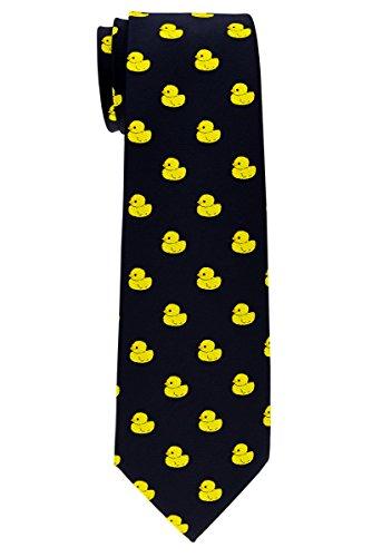 Corbata del niño de Retreez, diseño a rayas, 8–10años, varios colores Negro Negro ( 8 - 10 Año