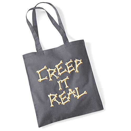 Bang Tidy Clothing Halloween kostüm Tote Bag Trick oder Festlichkeit Geschenke Kriechen es echten Shopper
