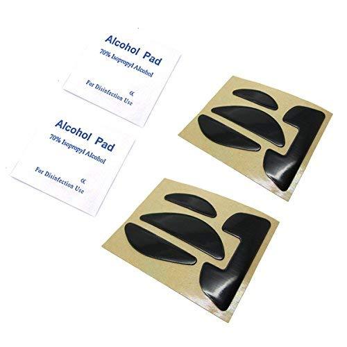 Feicuan Mouse Feet Skates Teflon Sliders Pad for Gaming Mouse Logitech  G700/G700S (0 6mm,Pack of 2)