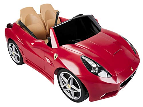 FEBER - Vehículo infantil de 2 plazas Ferrari California 12V (Famosa 800006330)