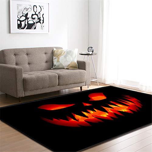 CHAOSE Leichte Weiche Polyester-Baumwolle Bedruckte Fläche Teppich Bodenmatte Sport, spannende Serie Für Wohnzimmer und Schlafzimmer (Halloween, 60 x 39 in(152.4 x 99.1 cm))