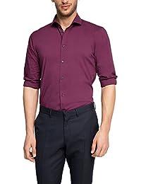 ESPRIT Collection Herren Extra Slim Fit Business Hemd bügelleicht Ausgerüstet