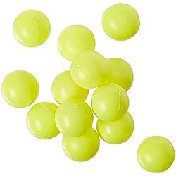3/4Mini ping pong/pelotas de tenis de mesa/Cerveza Pong Ronda Amarillo–19mm–100pk