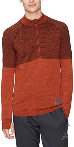buy online 3372f 4ace3 Adidas  ndash  Scarpe da Corsa Climaheat Prime Knit Zip a a a Maniche  Lunghe da Uomo, Uomo, Energy nero, Medium   Molto apprezzato e ampiamente  fidato ...