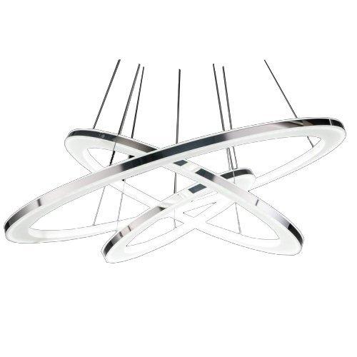 Modernen LED Kronleuchter, 3-Ringe Anhänger LED-Licht Deckenleuchte