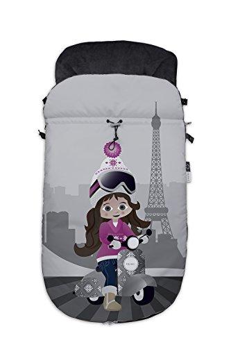 Fuli&co Paris - Saco universal para todas las sillas de paseo, color rosa