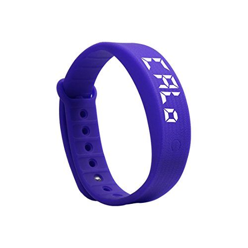 Fitness Armband Silikagel Track Schrittzähler Schlafanalyse Smart Armbänder W5S