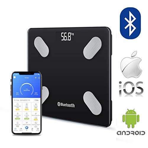Bluetooth Body Fat Scale Digital...