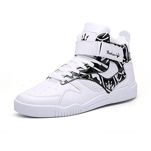 FZUU Sneaker Uomo, Nero (Nero), 41